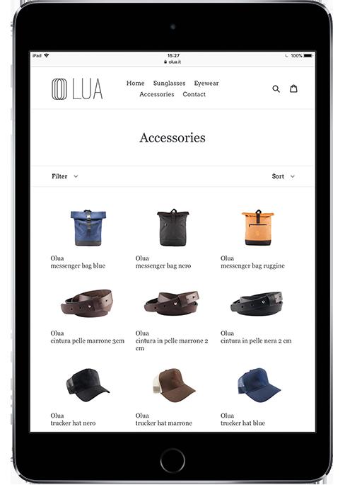 Fotografie per e-commerce e cataloghi